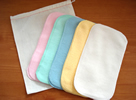 Cloth Wipes are a gentle way of keeping babies' skin clean.